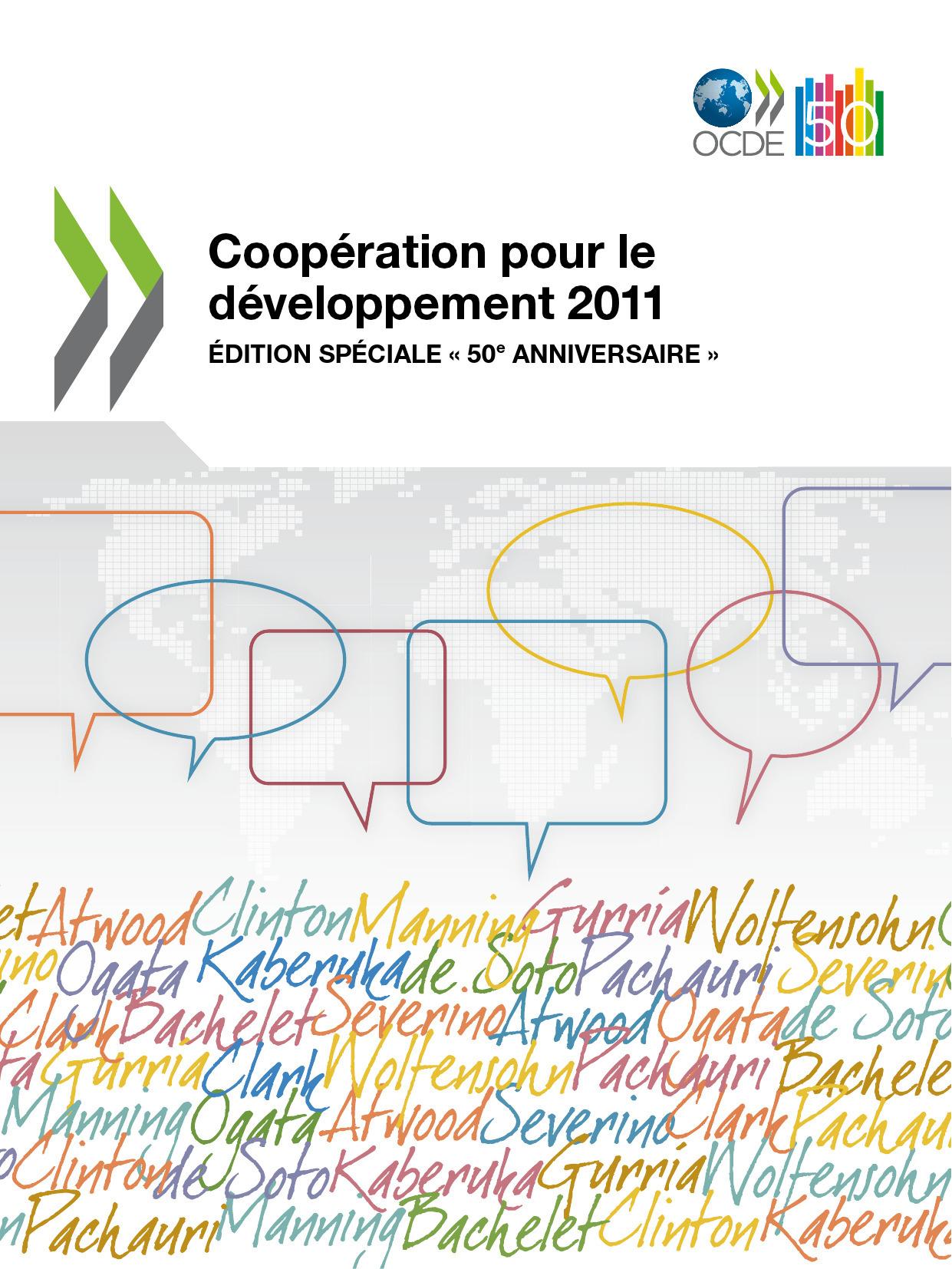 Collectif Coopération pour le développement 2011 ; édition spéciale 50e anniversaire
