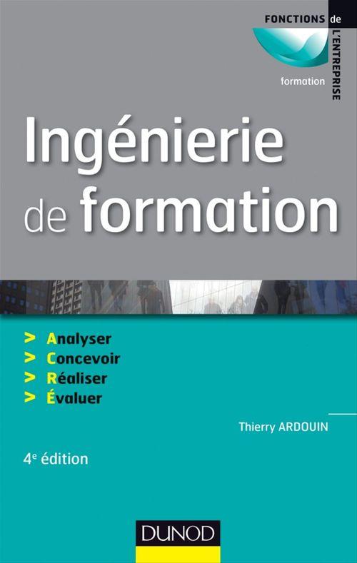 Thierry Ardouin Ingénierie de formation - 4e édition
