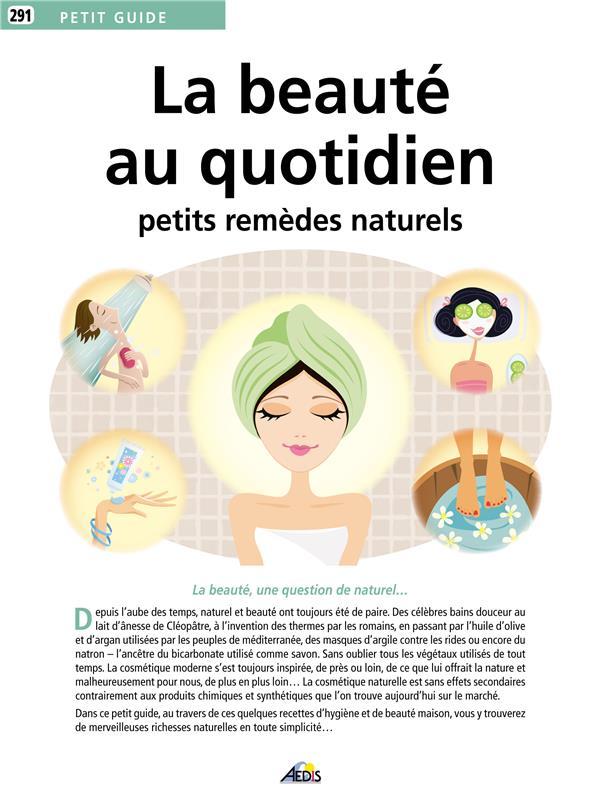 Petit Guide La beauté au quotidien