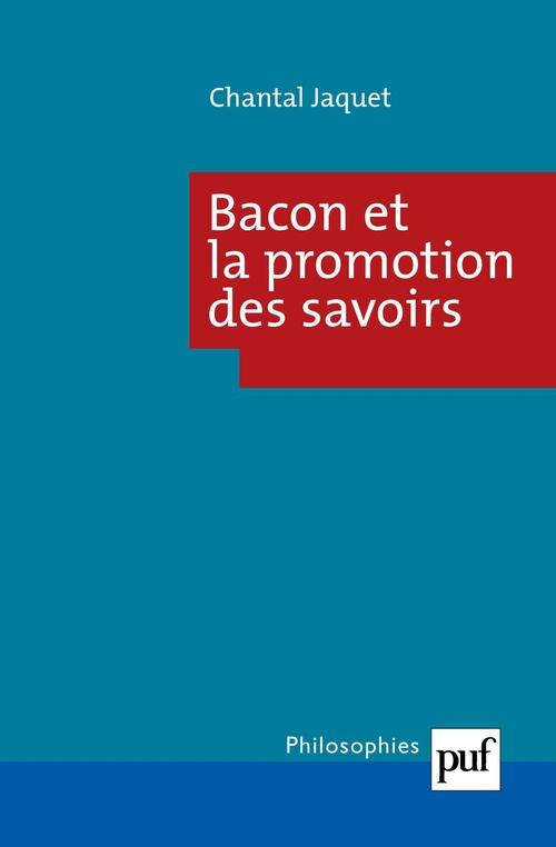 Chantal Jaquet Bacon et la promotion des savoirs