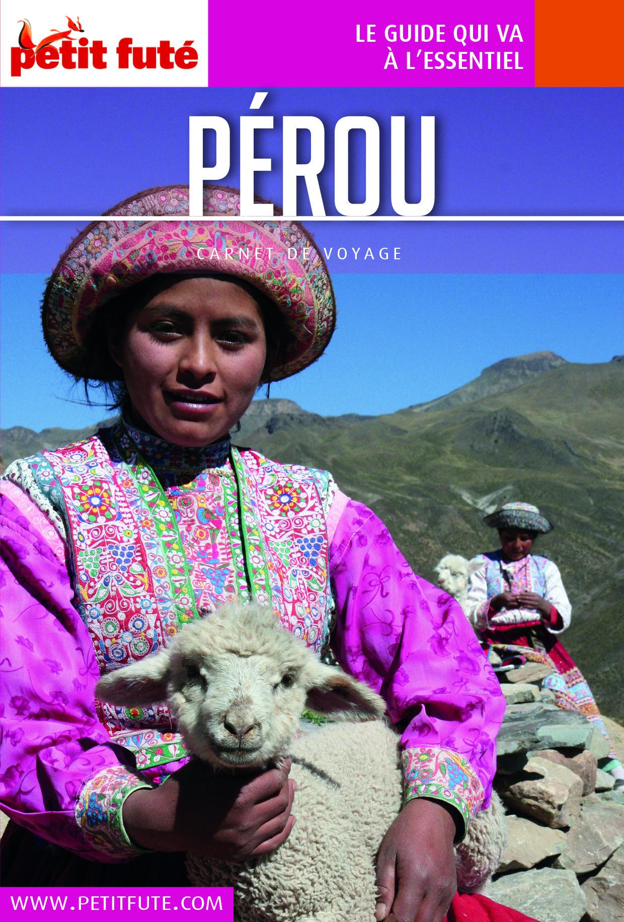 Dominique Auzias Pérou 2016 Carnet Petit Futé