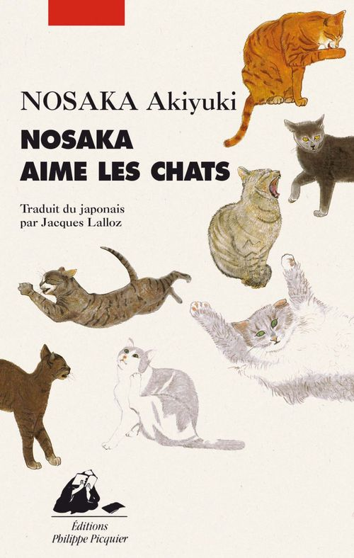 Akiyuki NOSAKA Nosaka aime les chats