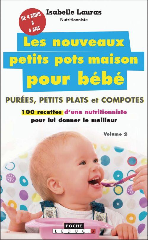 Les nouveaux petits pots maison pour bébé