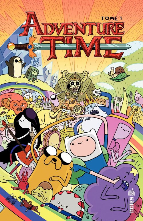 Tome 1 ; ADVENTURE TIME - Tome 1 - Adventure time tome 1