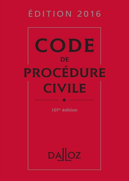Isabelle Després Code de procédure civile 2016