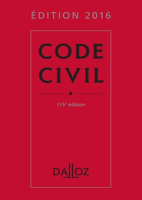 Pascal Ancel Code civil 2016
