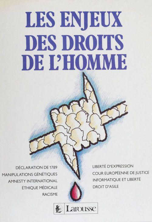 Jean-François de Raymond Les Enjeux des droits de l'homme