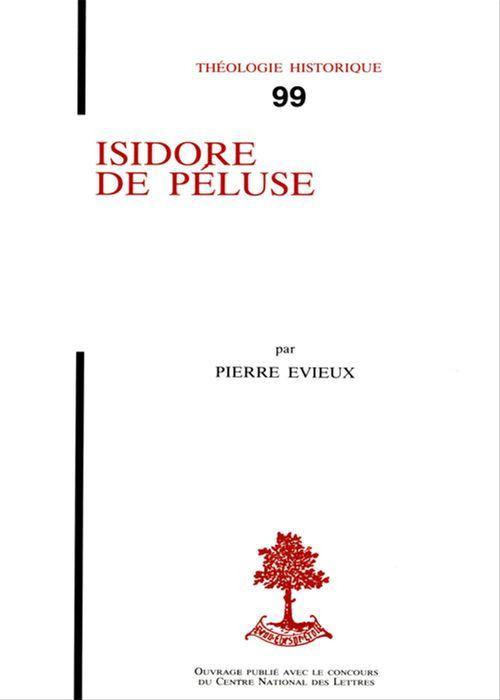 Pierre Evieux Isidore de Péluse