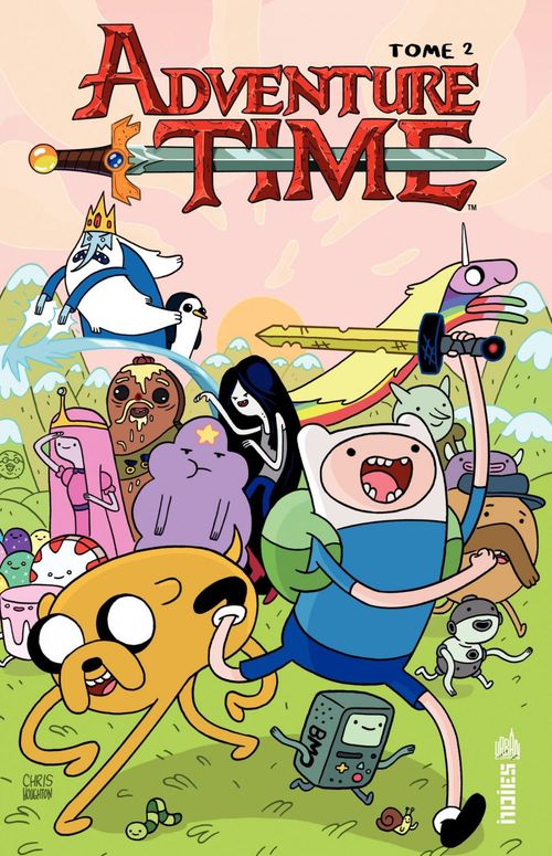 Tome 2 ; ADVENTURE TIME - Tome 2 - Adventure Time tome 2