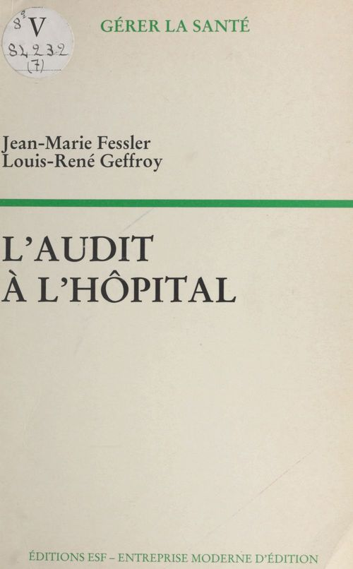 L'audit à l'hôpital