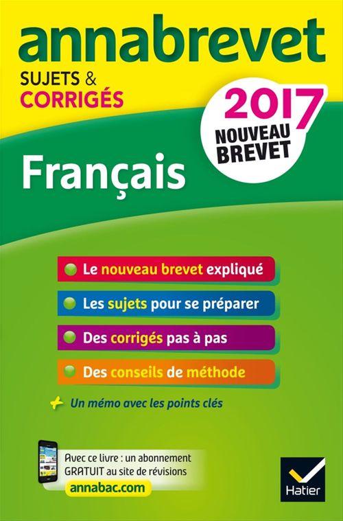 Christine Formond Annales Annabrevet 2017 Français 3e