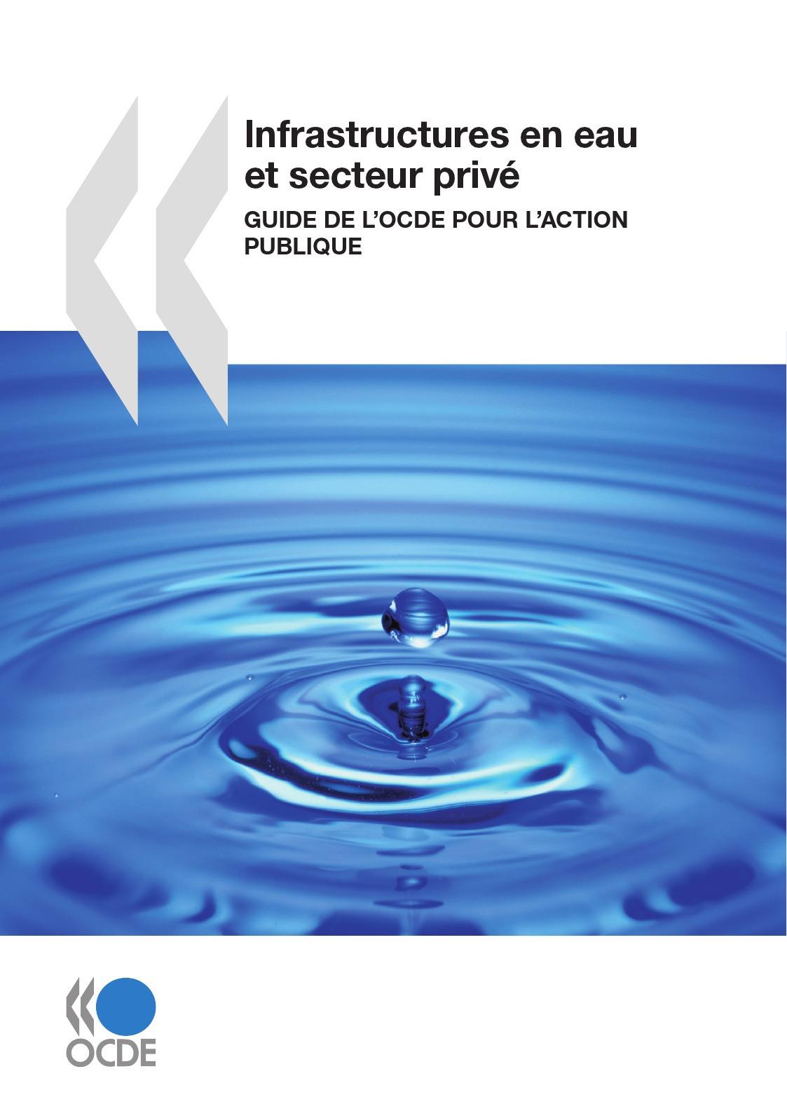 Collectif Infrastructures en eau et secteur privé