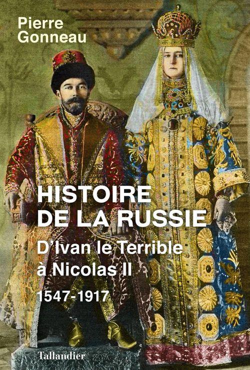 Pierre Gonneau Histoire de la Russie