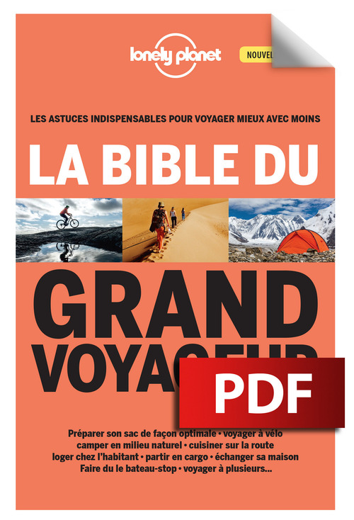 LONELY PLANET La bible du grand voyageur 3ed