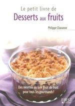 Le Petit Livre de - Desserts aux fruits
