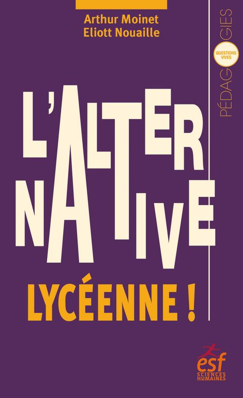 Eliott NOUAILLE L'Alternative lycéenne