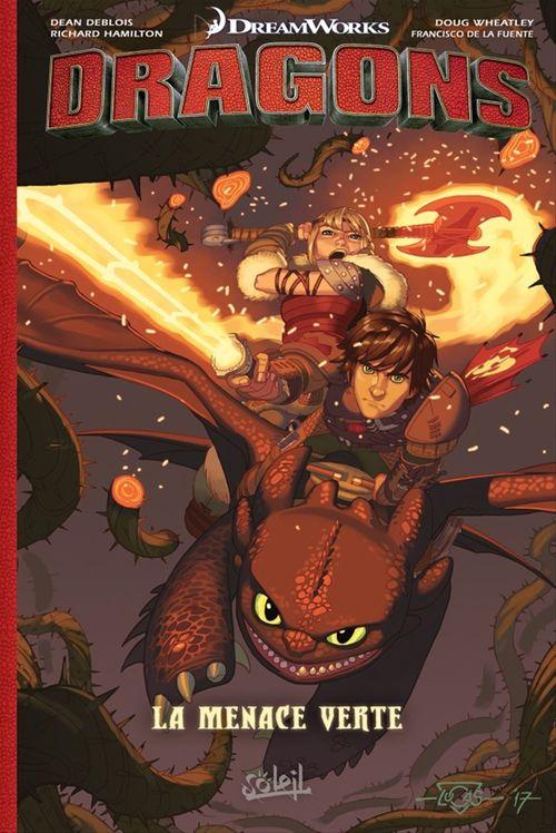 Collectif Dragons La Menace verte