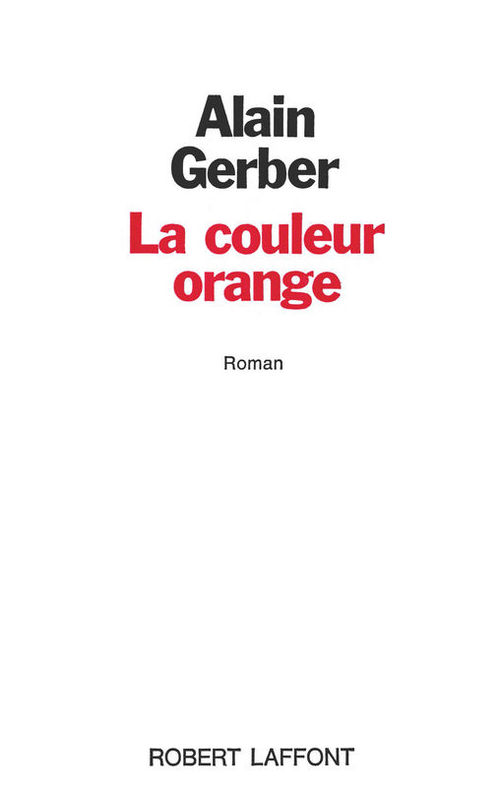 La couleur orange