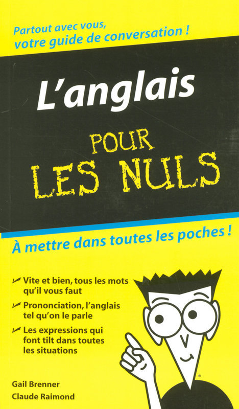 L'Anglais - Guide de conversation Pour les Nuls