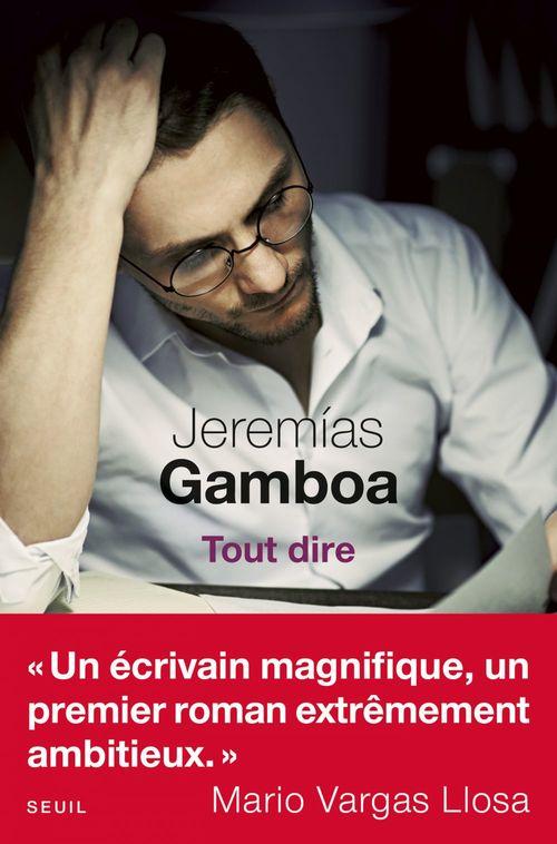 Jeremías Gamboa Tout dire