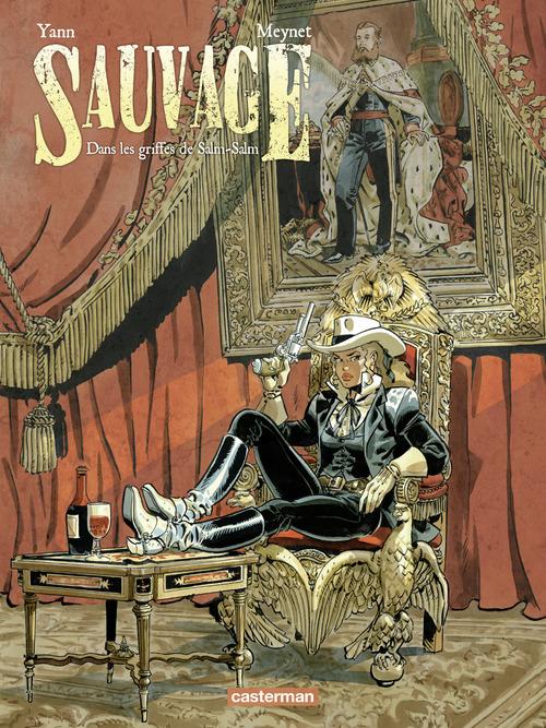 Yann Sauvage (Tome 2)  - Dans les griffes de Salm-Salm