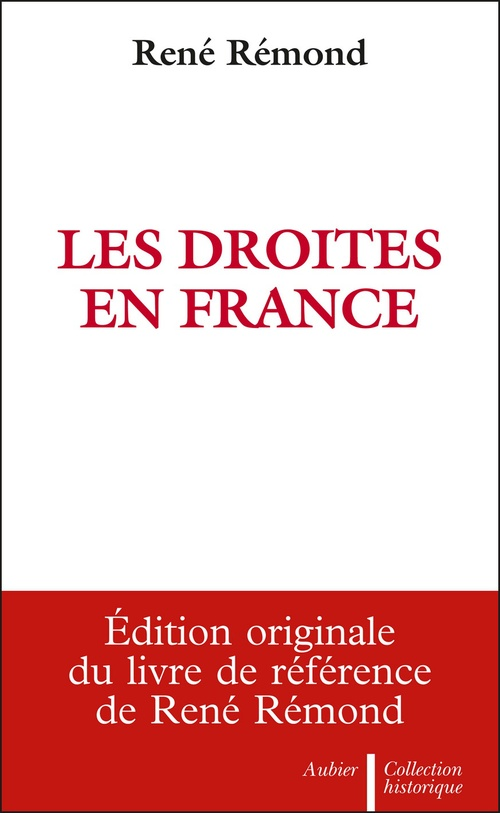 René Rémond Les Droites en France