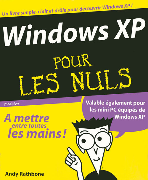 Andy RATHBONE Windows XP Pour les nuls