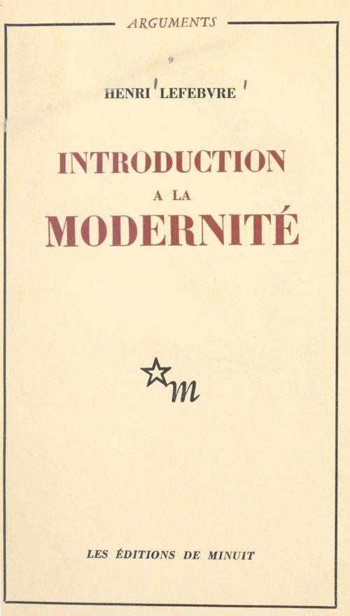 Introduction à la modernité