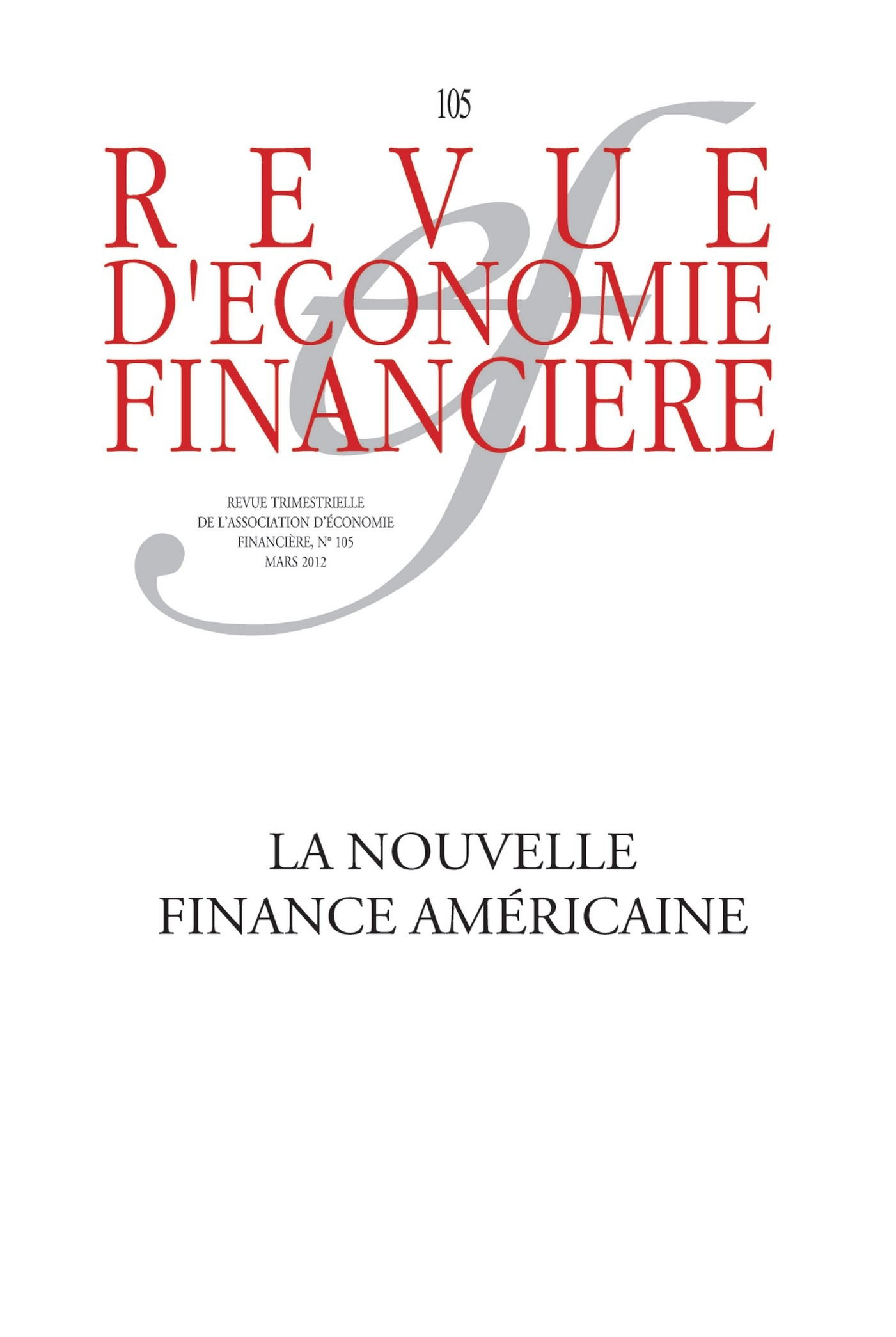 Ouvrage Collectif La nouvelle finance américaine