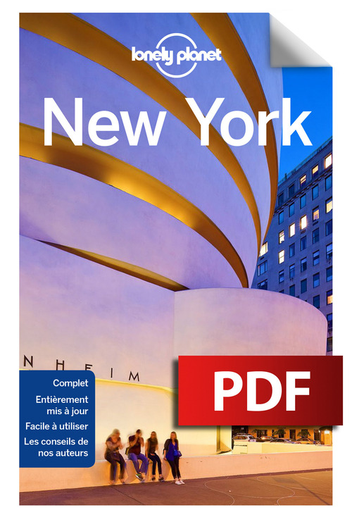 LONELY PLANET New York City guide - 10ed
