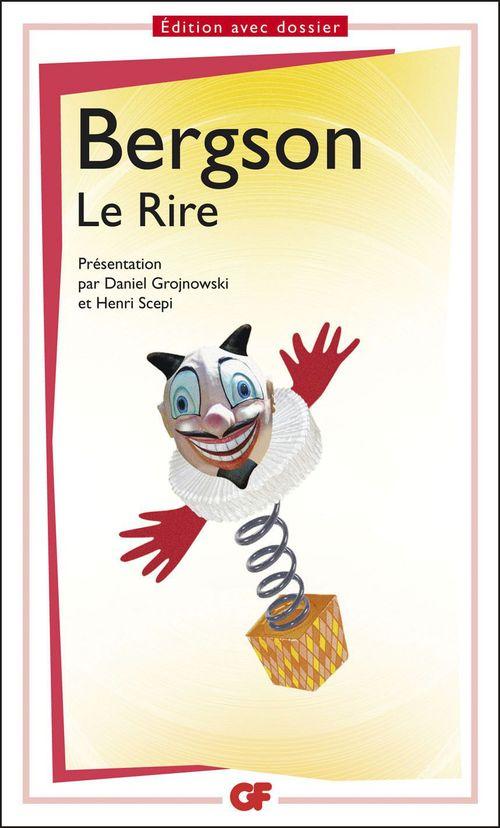 Henri Bergson Le Rire