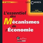 L'essentiel des mcanismes de l'conomie  (3e dition)
