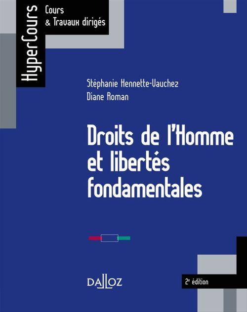 Stéphanie Hennette-Vauchez Droits de l'Homme et libertés fondamentales