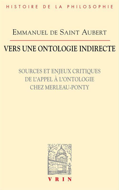 Vers une ontologie indirecte
