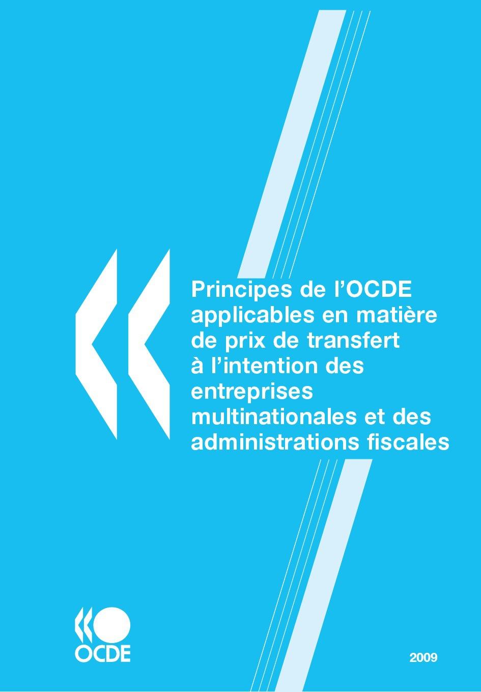 Collectif Principes de l'OCDE applicables en matière de prix de transfert