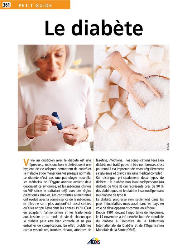 Petit Guide Le diabète