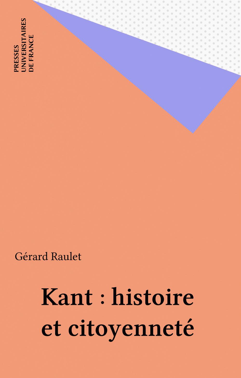 Kant : histoire et citoyenneté