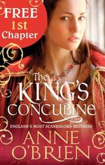 FREE 1st chapter - The King's Concubine - try before you buy