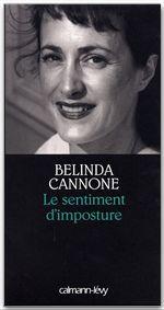 Belinda Cannone Le Sentiment d'imposture - Prix de la Société des Gens de Lettres 2005