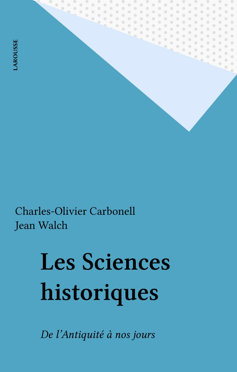 Les Sciences historiques