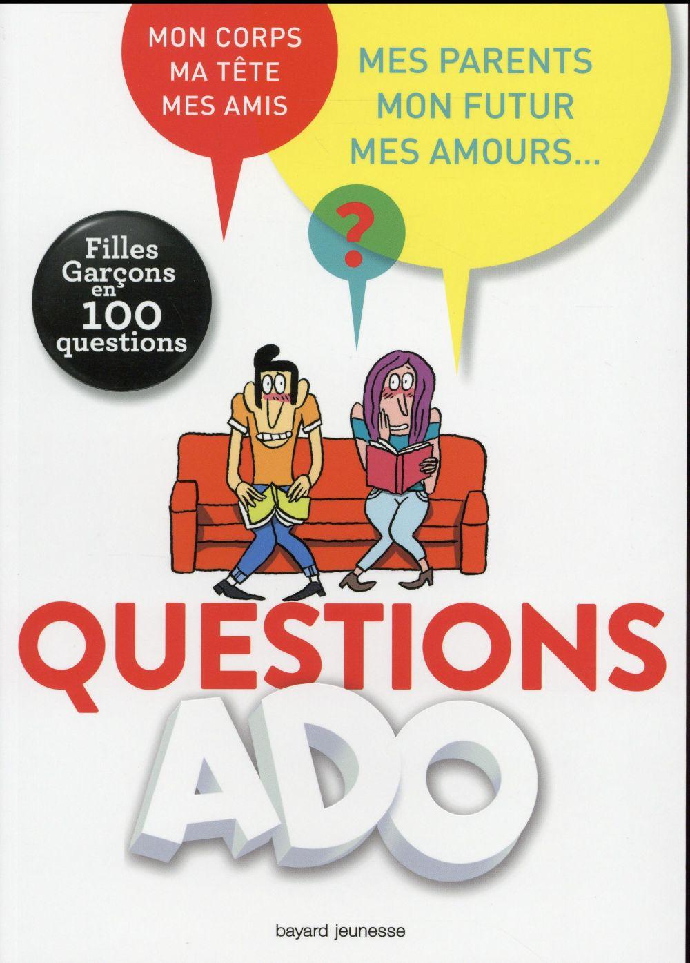 Génération ado, questions intimes