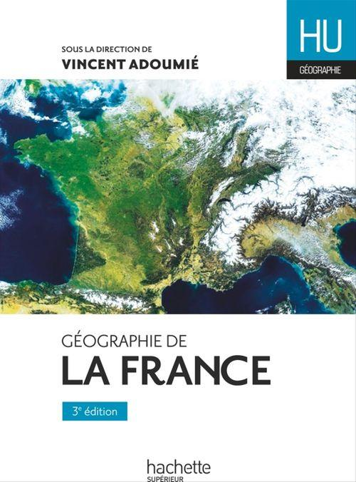 Vincent Adoumié Géographie de la France