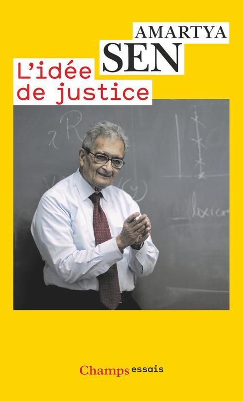 Amartya Sen L'idée de justice