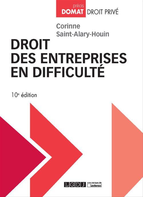 Droit des entreprises en difficulté - 10e édition