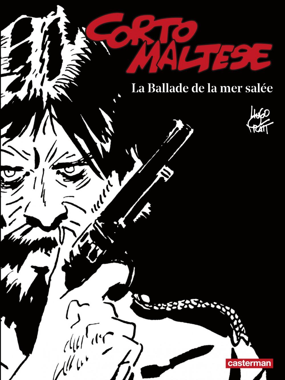 Hugo Pratt Corto Maltese (Tome 1) - La Ballade de la mer salée (édition enrichie noir et blanc)