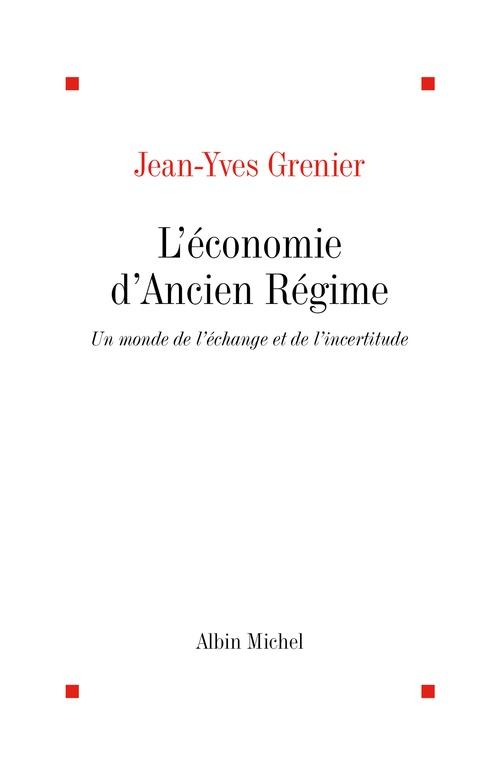 L'Economie d'Ancien Régime