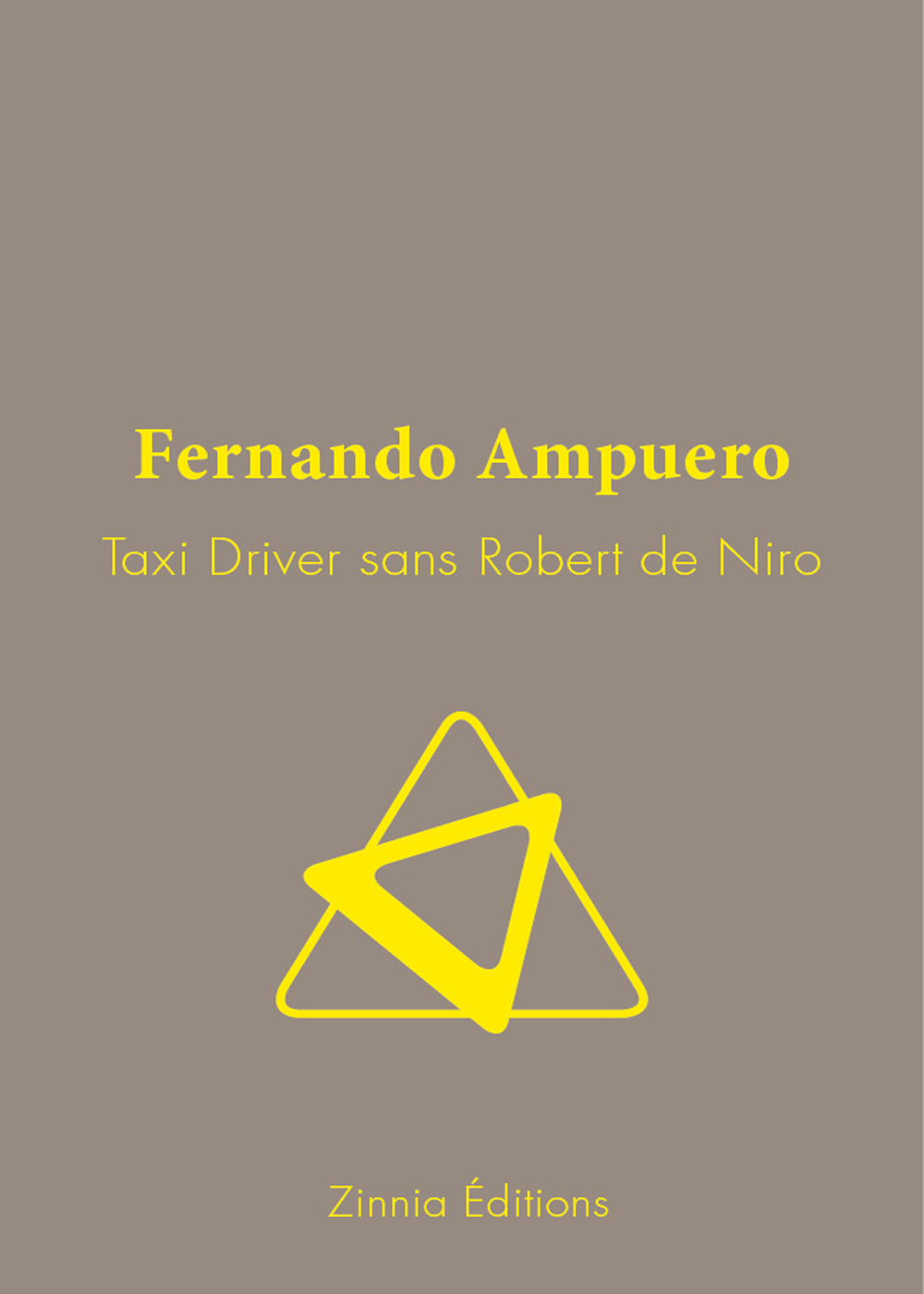 Fernando Ampuero Taxi Driver sans Robert de Niro
