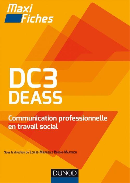 Louise Mirabelle Biheng Martinon DC3 DEASS Communication professionnelle en travail social