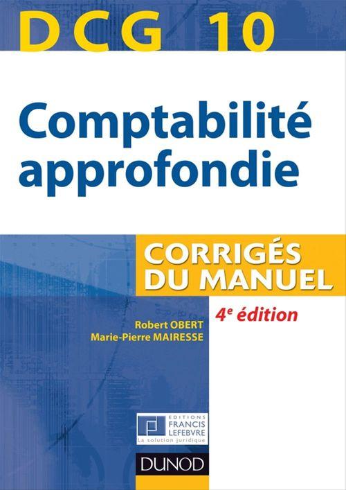 DCG 10 - Comptabilité approfondie 2013/2014 - 4e édition