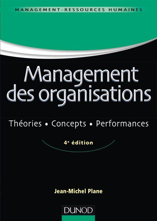 Management des organisations - 4e ed.